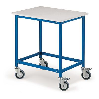 Desserte mobile pour table de travail##Rolltisch für den Arbeitstisch