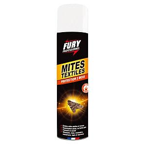 Aérosol anti-mites textiles Fury 400 ml