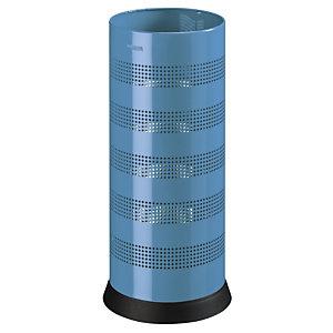 ROSSIGNOL Porte-parapluies kipso - perfore - 28l - bleu mat lisse
