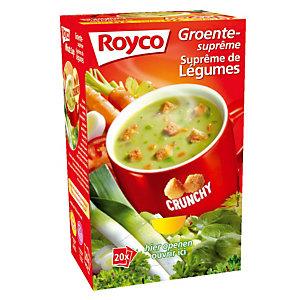 ROYCO 20 sachets Soupe Royco Suprême de légumes Crunchy