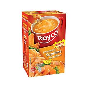 Royco Minute Soep,  Crunchy Supreme, Pompoen
