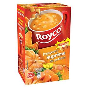 Royco Sachets de soupe Crunchy Suprême de Potiron - 20 sachets