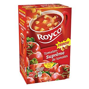 ROYCO Sachets de soupe Crunchy Suprême de Tomates - 20 sachets