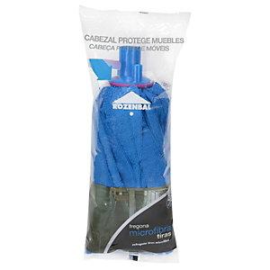 ROZENBAL Fregona de microfibra en tiras, azul