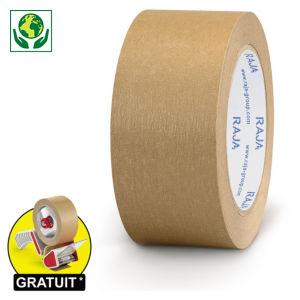 Ruban adhésif en papier kraft résistant 70 g/m² RAJA