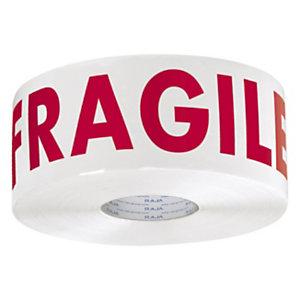 Ruban adhésif avec message Fragile RAJA