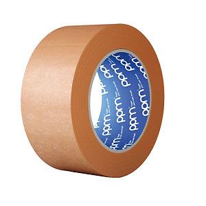 Ruban adhésif en papier kraft 80g/m2 50 mm x 50 m, lot de 6 rubans