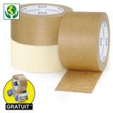 Ruban adhésif en papier kraft RAJA Standard, 57 g/m²