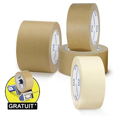 Ruban adhésif papier kraft RAJA##Papier-Packband RAJA