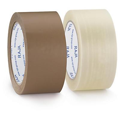 Ruban adhésif polypropylène silencieux RAJATAPE Résistant mat, 35 microns