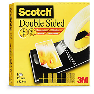 Ruban double face fin Scotch 3M ®