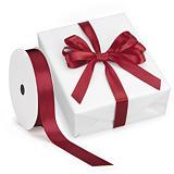 Ruban pour emballage cadeau couleur effet satin