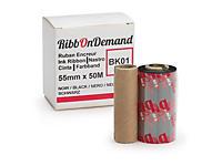 Ruban encreur 50 mm x 5 m + couleur impression pour imprimante Ribbondemand