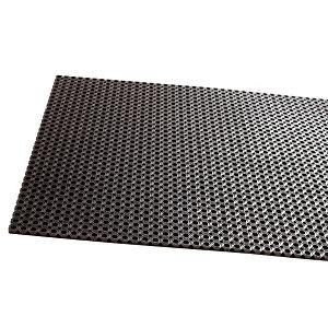 Rubberen roostermat dikte 12,5 mm, 1,00 x 1,50 m
