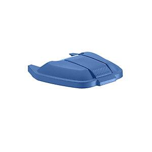 Rubbermaid Commercial Products Coperchio per Contenitore mobile Rubbermaid Blu