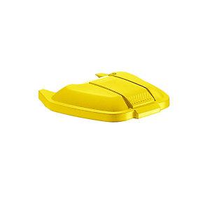 Rubbermaid Commercial Products Coperchio per Contenitore mobile Rubbermaid Giallo