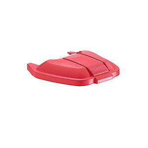 Rubbermaid Commercial Products Coperchio per Contenitore mobile Rubbermaid Rosso