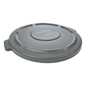 Rubbermaid Commercial Products Coperchio per contenitore multiuso Brute® 37,9 l, Grigio