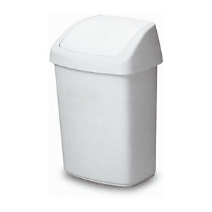 RUBBERMAID COMMERCIAL PRODUCTS Couvercle basculant blanc
