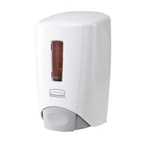 Rubbermaid Commercial Products Dispenser per sapone liquido Flex™, Plastica, 10 x 14,6 x 30 cm, Bianco