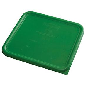 Rubbermaid Commercial Products Food Service Coperchio per contenitore da 11,4 l, Codice colore Verde