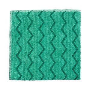 Rubbermaid Commercial Products HYGEN™ Panno in microfibra, 406 x 406 mm, Verde