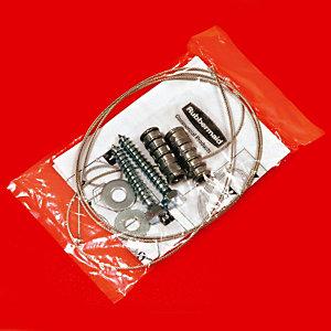 Rubbermaid Commercial Products Kit de fixation de sécurité pour cendrier TUSCAN