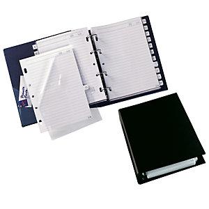 Rubrica telefonica Telex 3 - 15x21cm - nero - Sei Rota