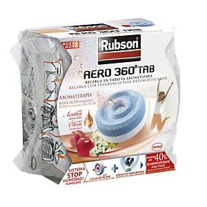 Rubson AERO360º TAB Recarga en tableta 2 en 1 con fragancia Poder Frutal Energizante