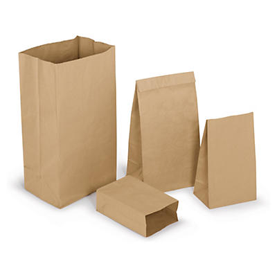 Sac papier en kraft brun éco##Papierbeutel