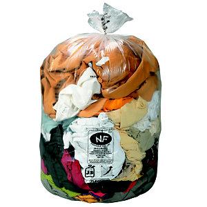 Sac plastique 500 sacs, 110 L, 21 microns