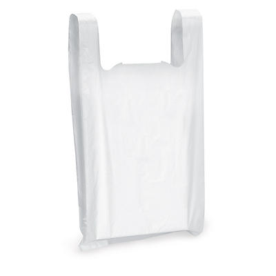 Sac plastique à bretelles