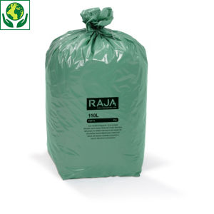 Sac poubelle 100% recyclé  RAJA