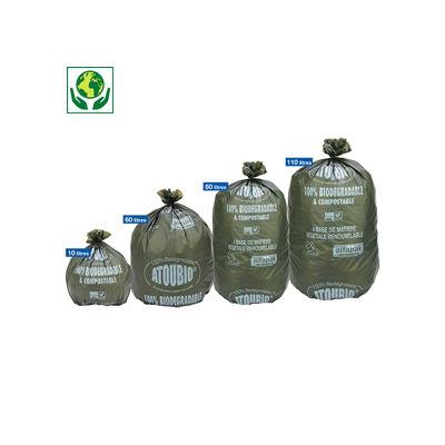 Sac poubelle 40% biosourcé