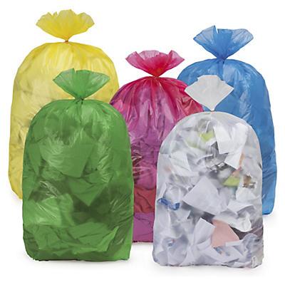 Sac-poubelle coloré économique