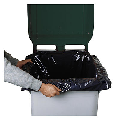 Sac-poubelle pour conteneurs jusqu'à 330 litres##Afvalzak voor containers tot 330 liter