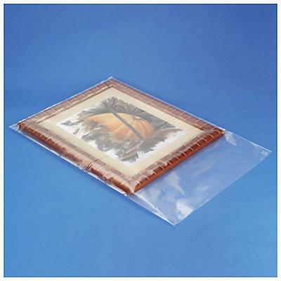 Sacchetti trasparenti in plastica riciclata 100 micron