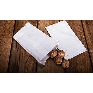 Sacchetto per alimenti in carta, 10 x 20, Bianco (confezione 2.200 pezzi)