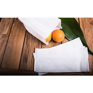 Sacchetto per alimenti in carta, 14 x 30, Bianco (confezione 1.300 pezzi)