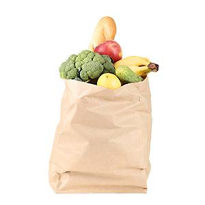Sacchetto per alimenti in carta, 30 x 62, Avana (confezione 480 pezzi)