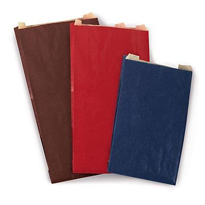 Sacchetto regalo in carta colorata colori classici