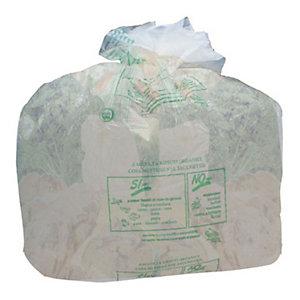 Sacchi biodegradabili con maniglie- 7 litri - F.to 35 x 50 cm - Spessore 17 micron (confezione 15 pezzi)