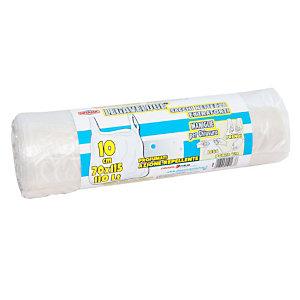 Sacchi extraforti con maniglie profumati - Colore trasparente - 110 litri - F.to 70 x 115 cm - Spessore 13 micron (confezione 10 pezzi)