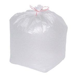 Sacchi nettezza urbana con prestrappo - Bianco - 25 litri - F.to 50 x 60 cm - Spessore 10 micron (confezione 20 pezzi)