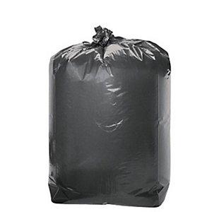 Sacchi nettezza urbana extraforti con filo in PP - Nero - 130 litri - F.to 80 x 110 cm - Spessore 40 micron (confezione 20 pezzi)