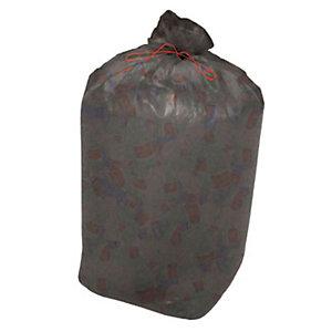 Sacchi nettezza urbana per raccolta differenziata - Colore grigio trasparente - 110 litri - F.to 70 x 110 cm - Spessore 15 micron (confezione 10 pezzi)