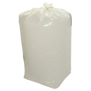 Sacchi profumati per la nettezza urbana - Colore Bianco - Profumo Limone - 110 litri - Formato cm 70 x 110 - Spessore 18 micron (confezione 10 pezzi)