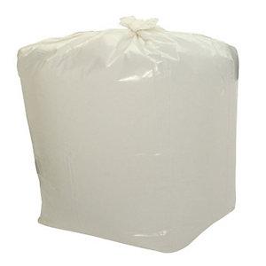 Sacchi profumati per la nettezza urbana - Colore Bianco - Profumo Limone - 25 litri - Formato cm 50 x 60 - Spessore 13 micron (confezione 20 pezzi)