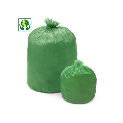 Sacchi spazzatura biodegradabili e compostabili
