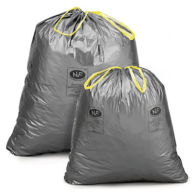Sacchi spazzatura con laccio scorrevole